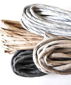 Papiergarn breit